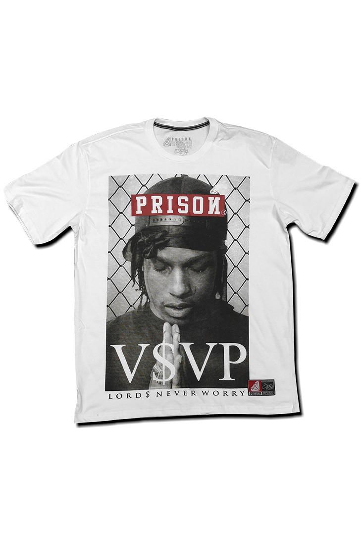 Camiseta ASAP Rocky Prison Branca