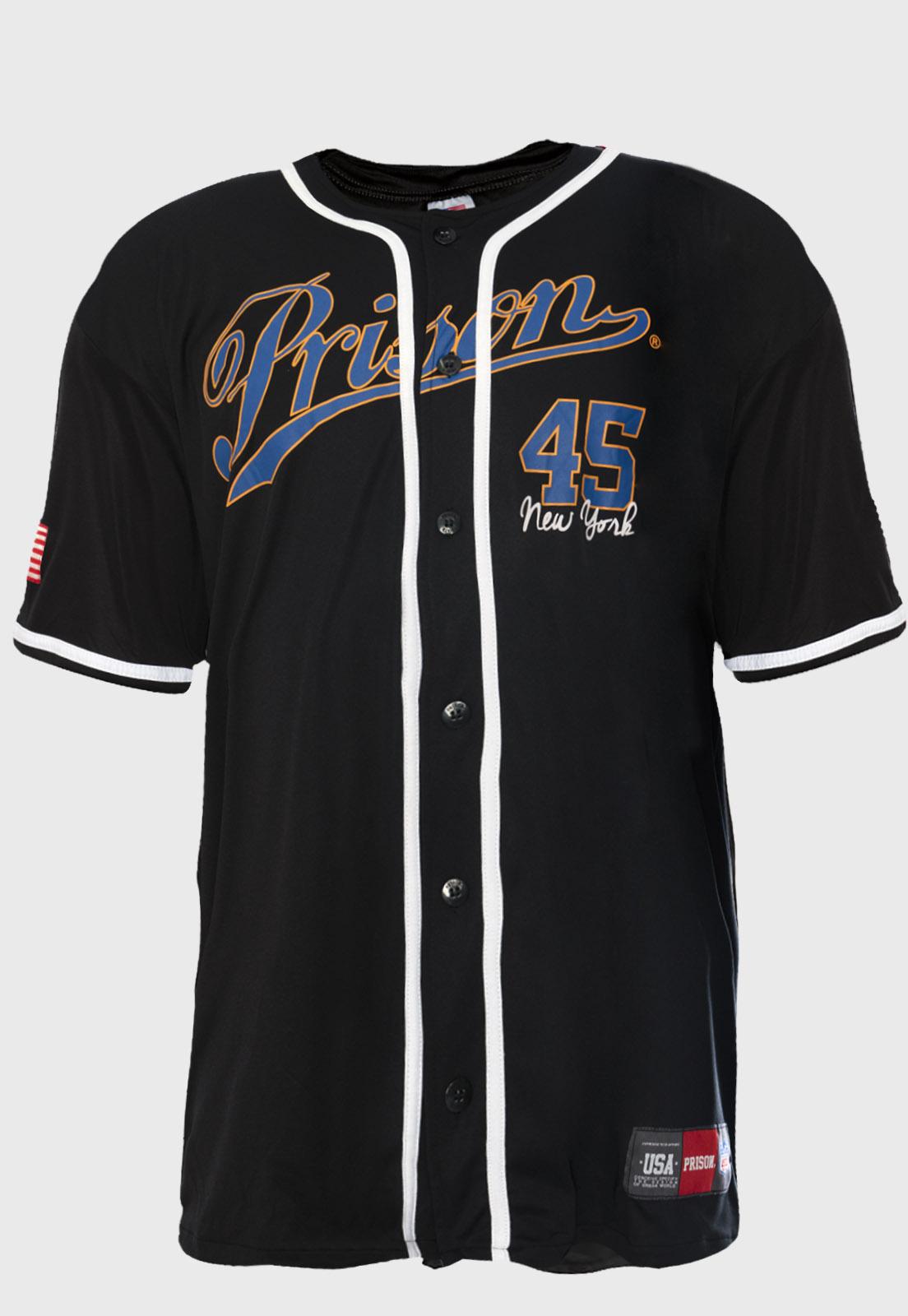 Camiseta Baseball Prison New York 45