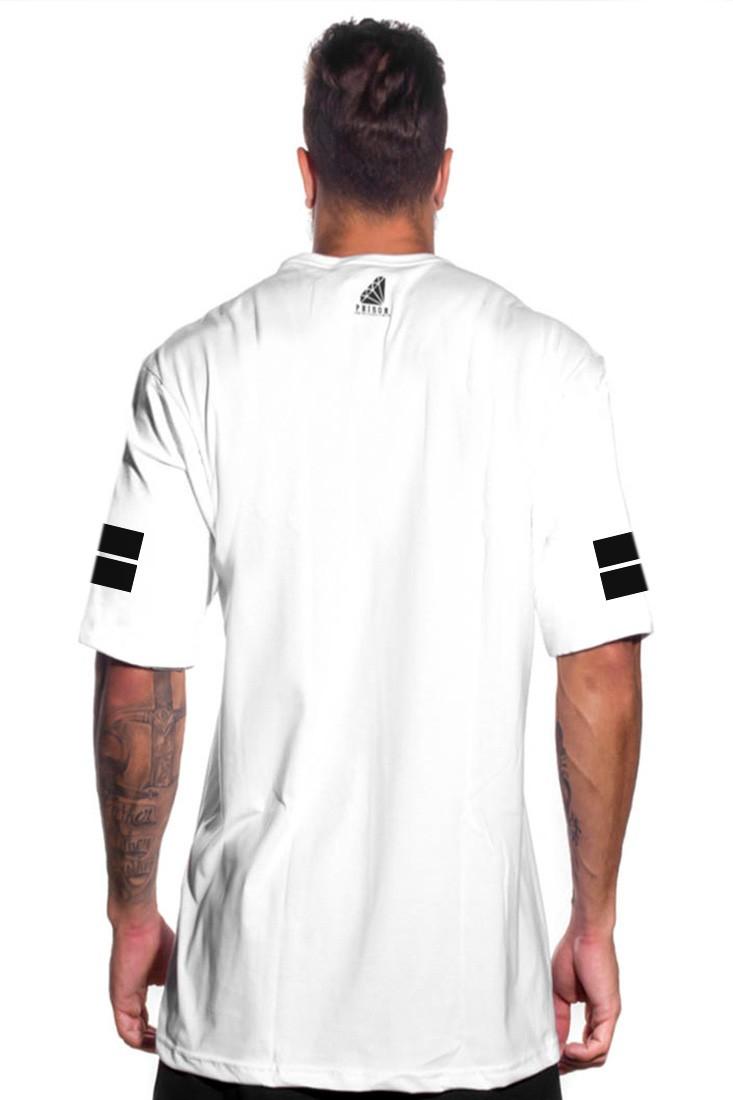 Camiseta Gods Prison Branca