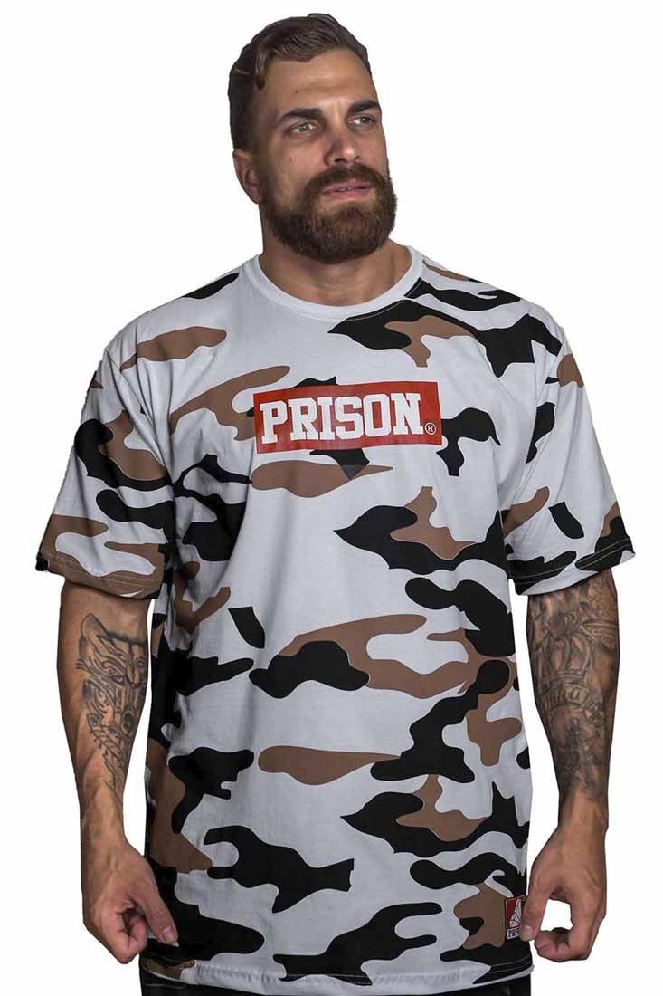 Camiseta Camuflada Pure Street Prison