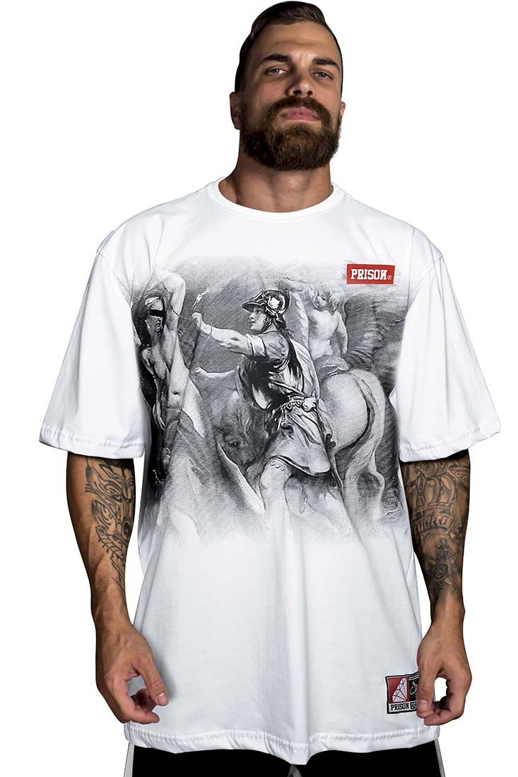Camiseta Code hemp Prison Branca