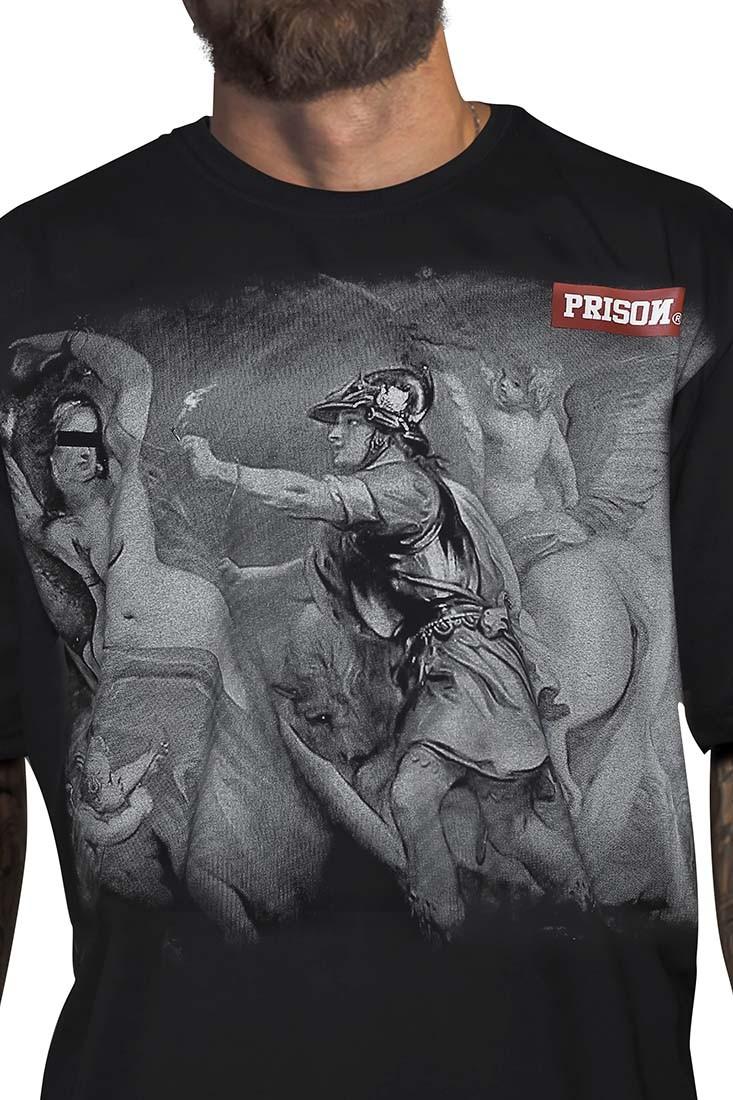 Camiseta Code hemp Prison Preta