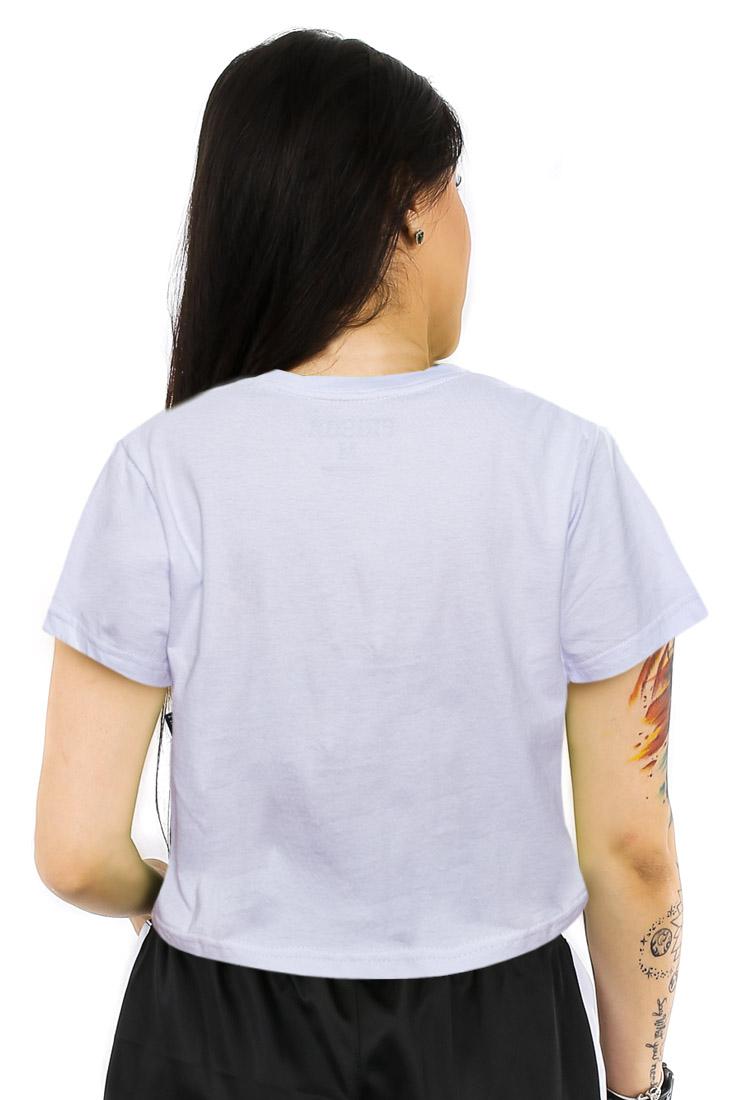 Camiseta Cropped Prison Color White