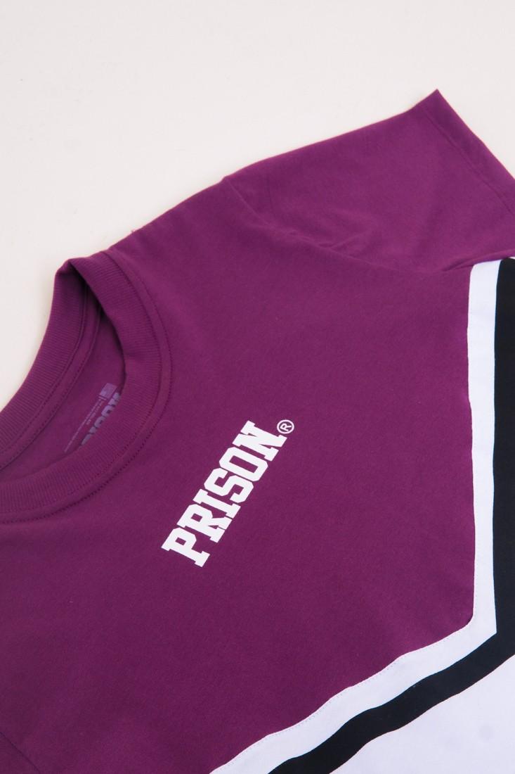 Camiseta Cropped Prison Feminina Fancy purple