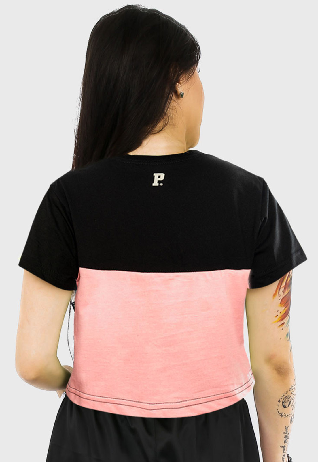 Camiseta Cropped Prison snip