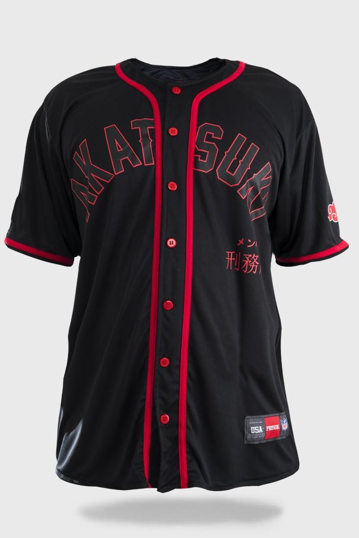 Camiseta de Baseball Akatsuki Black