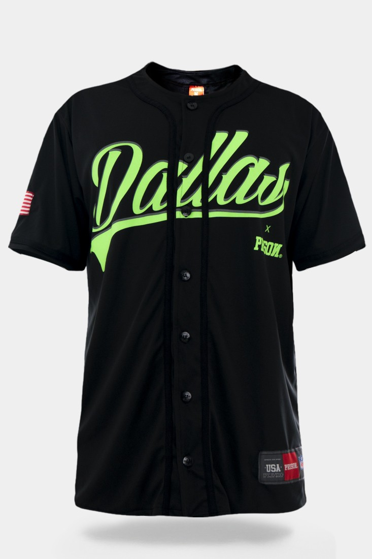 Camiseta de Baseball Dallas Fluor