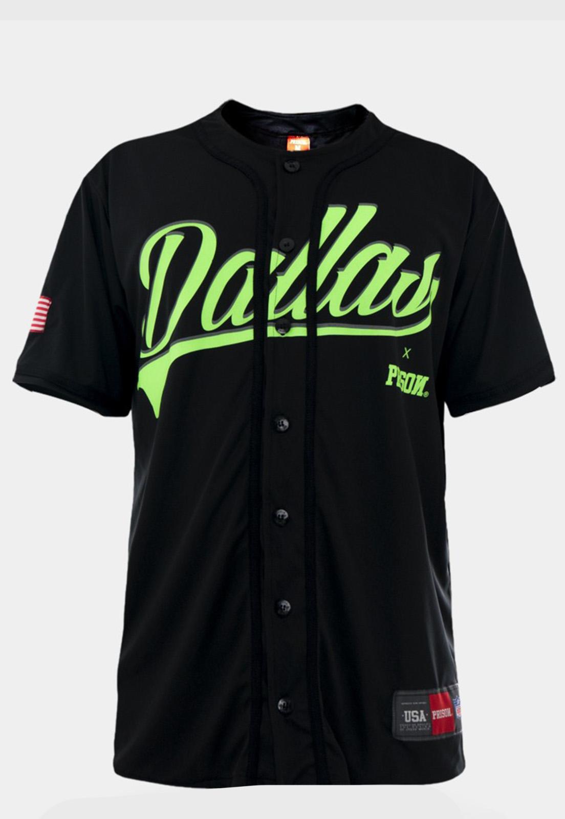 Camiseta de Baseball Prison Dallas