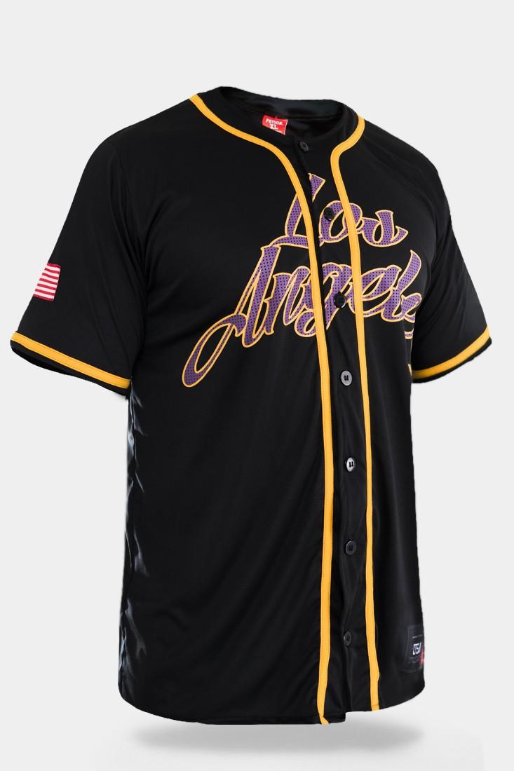 Camisa de Baseball Prison Los Angeles 34