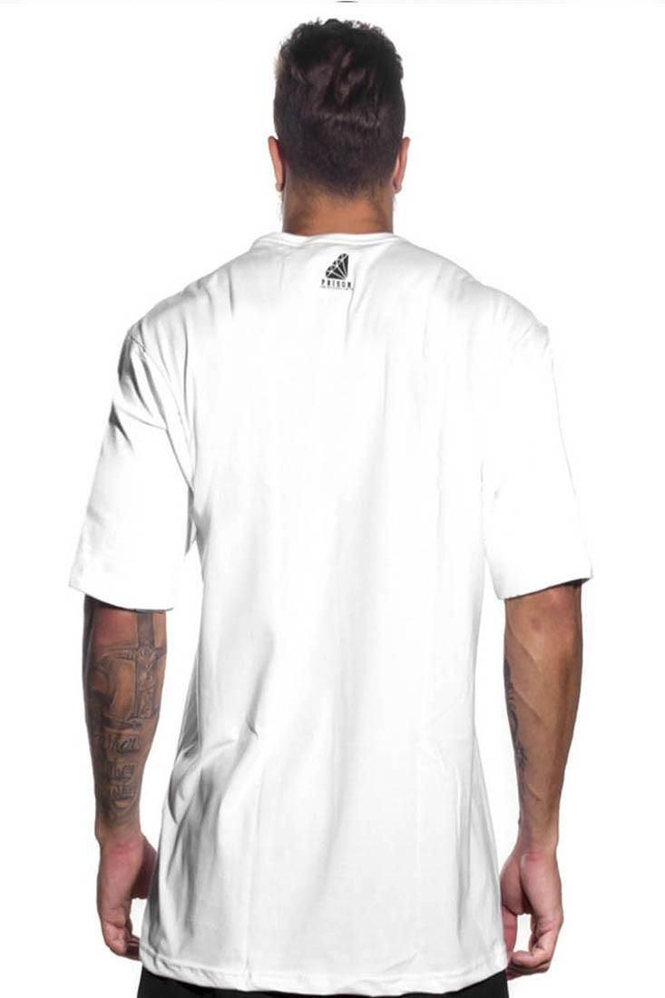 Camiseta Dodgers Prison Branca