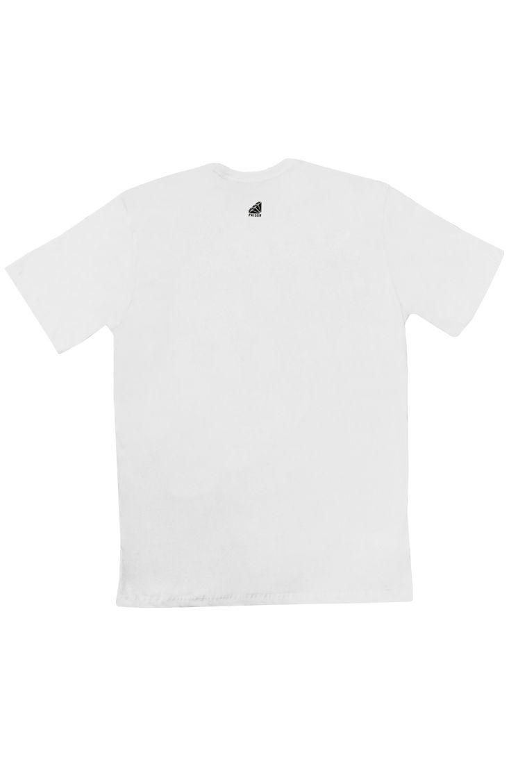 Camiseta Exclusive Camuflada Street Prison Branca