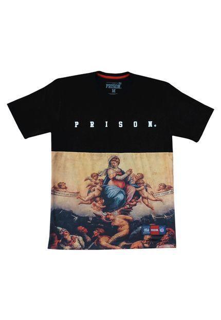 Camiseta Exclusive Roma Street Prison Preta
