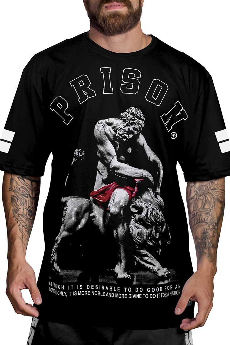 Camiseta Gods Prison Preta