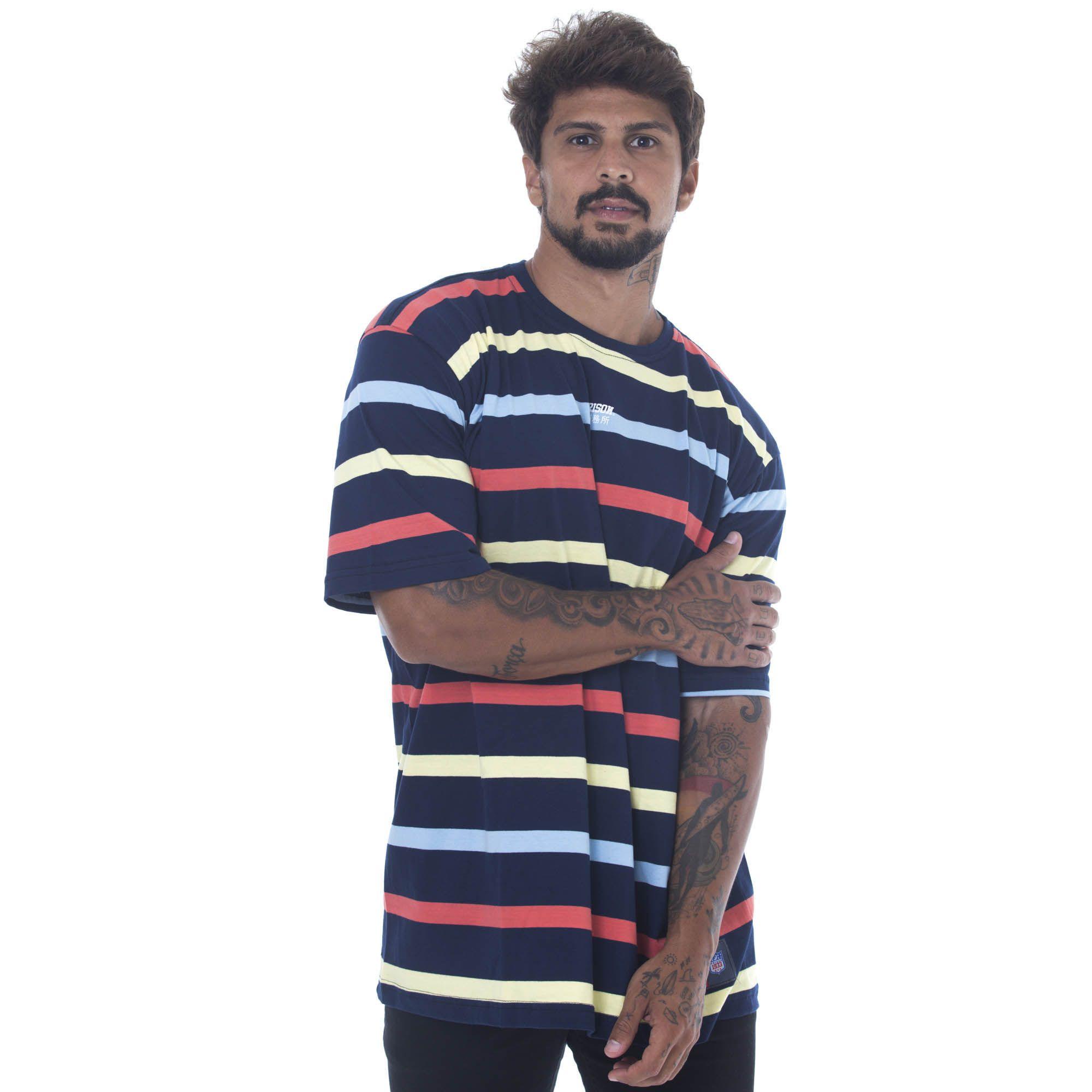 Camiseta Listrada Prison Fantastic