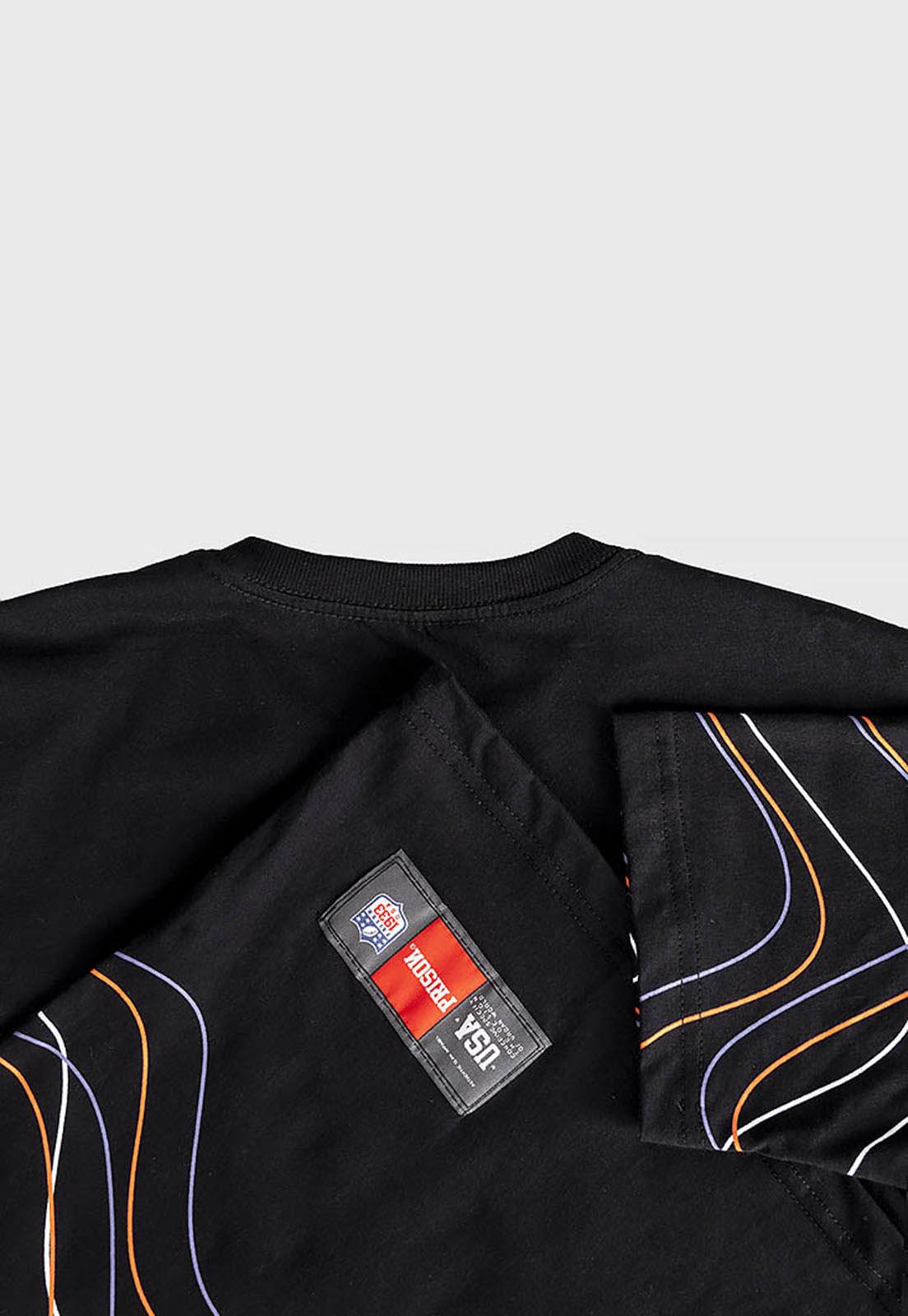 Camiseta Listrada Prison Waves