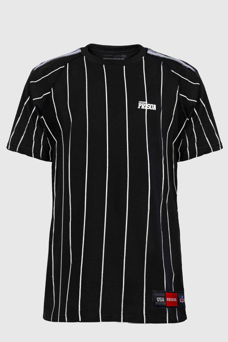 Camiseta Listrada Vertical Prison NY
