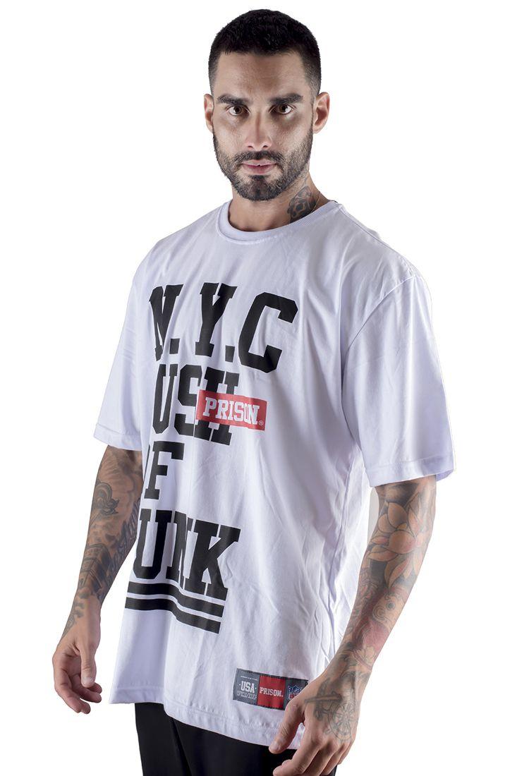 Camiseta NY Kunk Branca