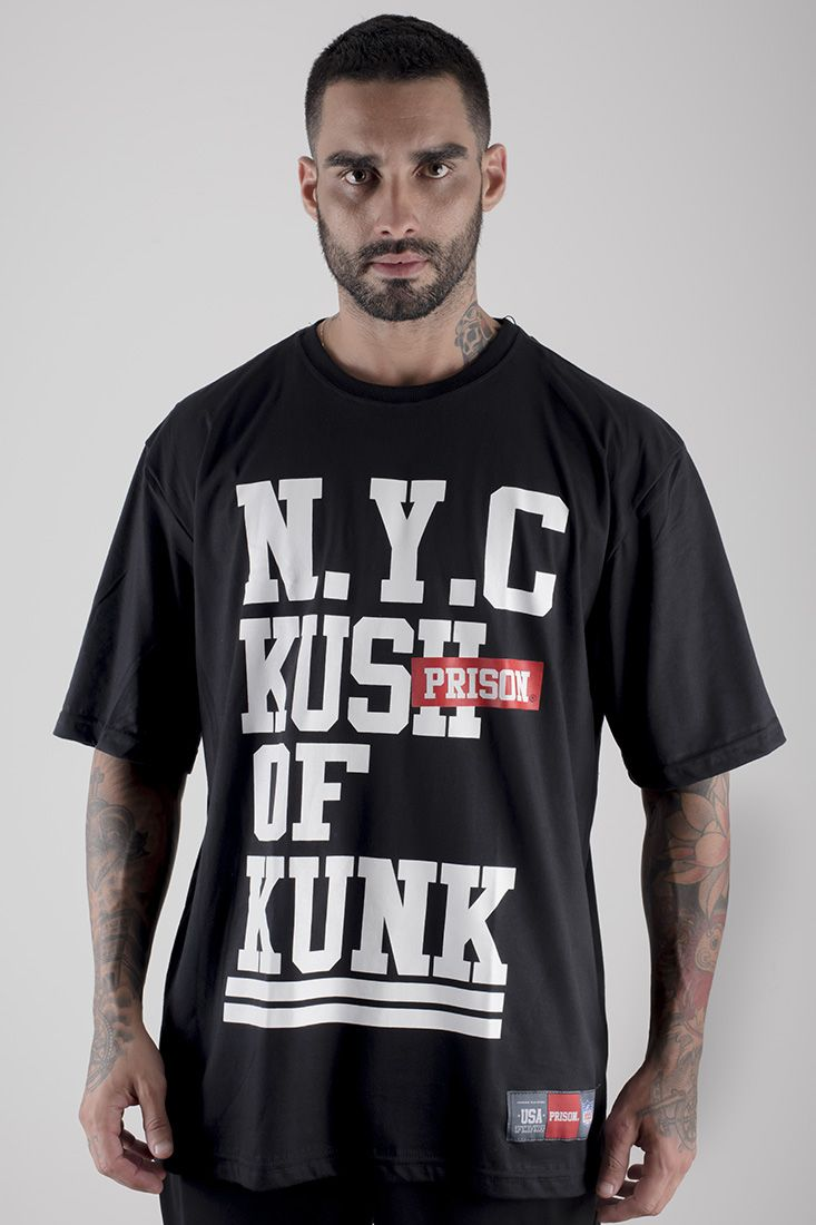 Camiseta NY Kunk Preta