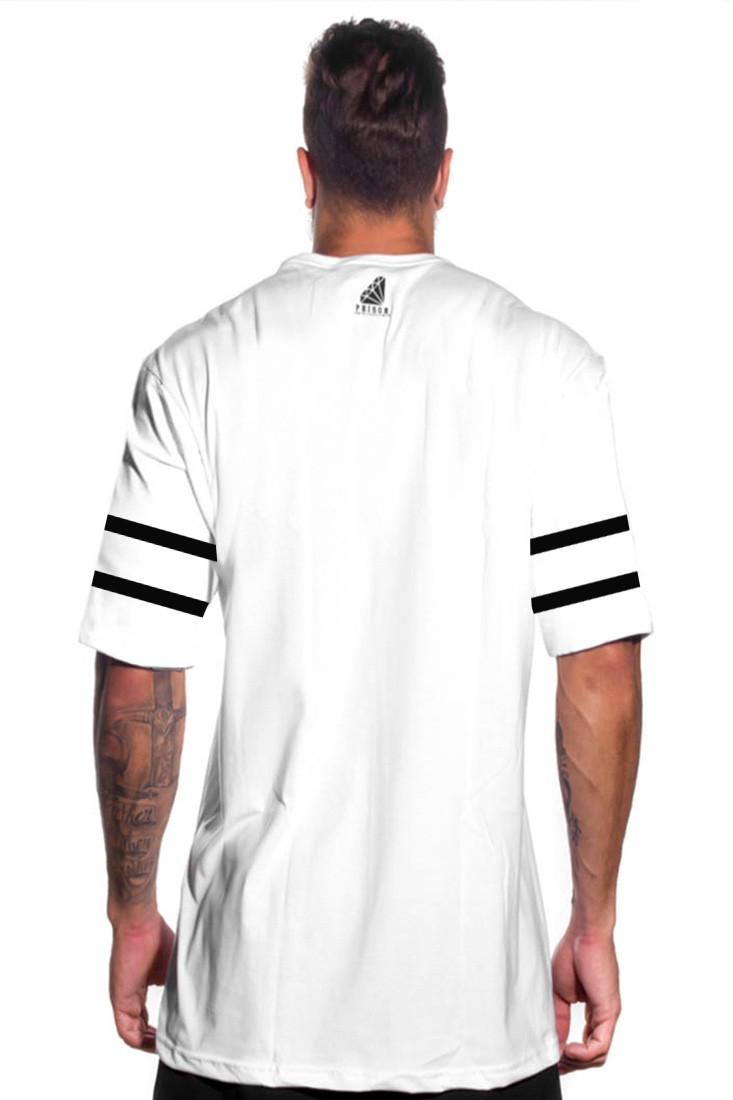 Camiseta Oakland 47 Prison Branca