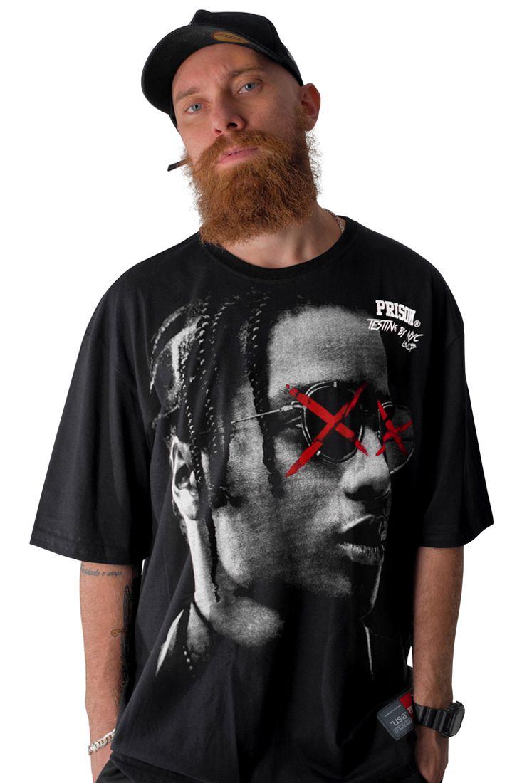 Camiseta Prison A$ap Rocky Preta