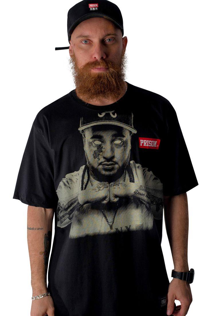 Camiseta Prison A$ap Yams Preta