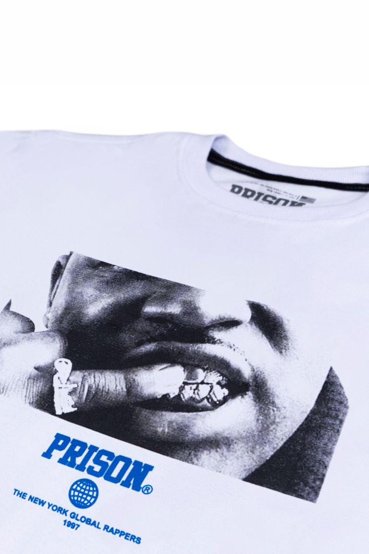 Camiseta Prison Asap Ferg Branca
