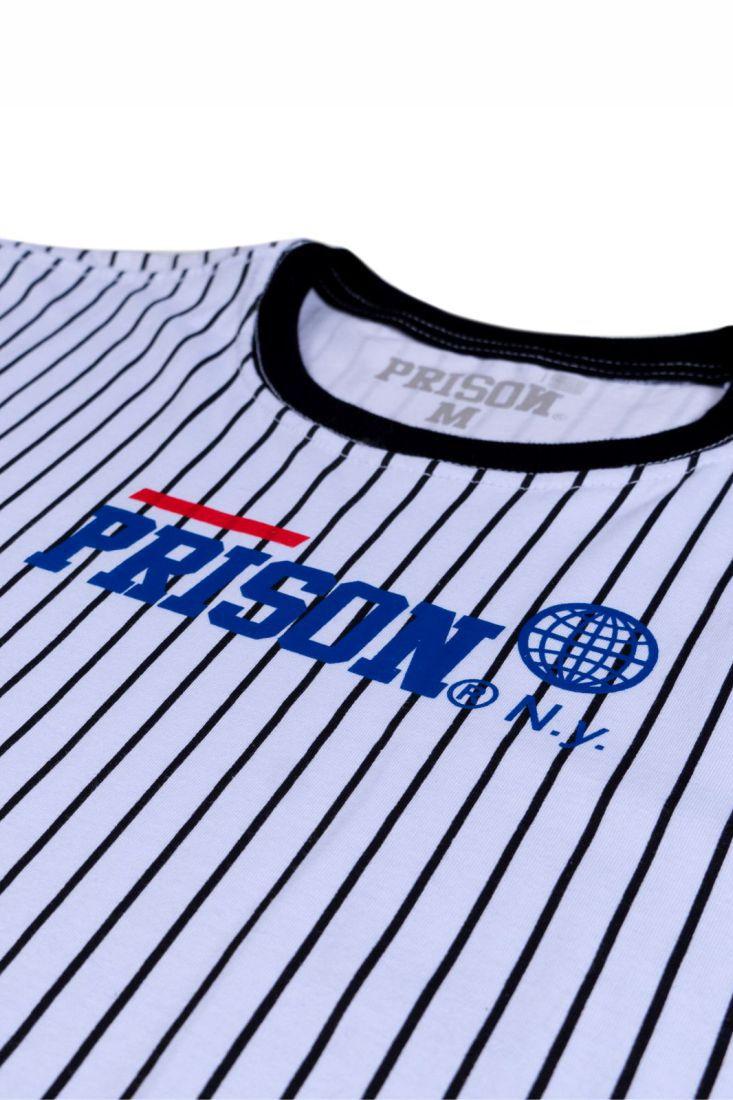 Camiseta Prison Athletic Lines Branca