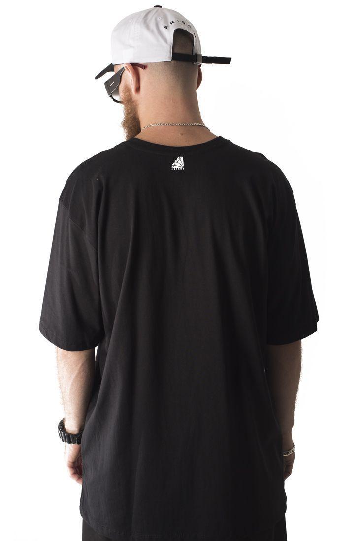 Camiseta Prison Bad American Girl Preta