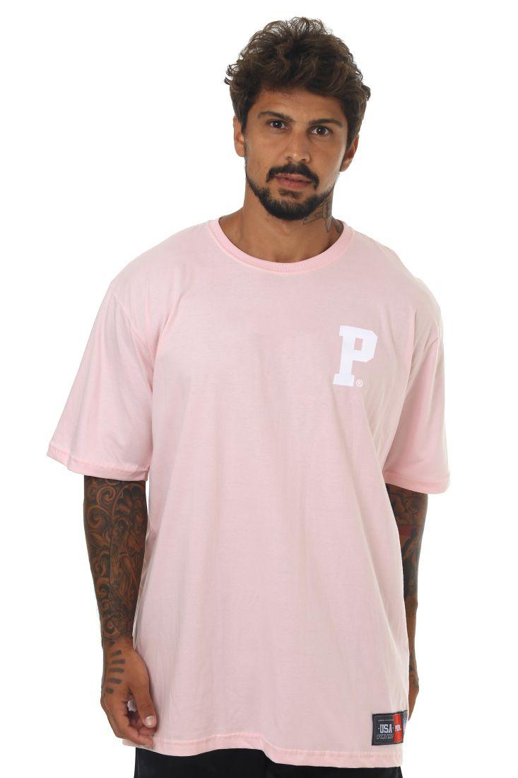 Camiseta Prison Premium P Rosa