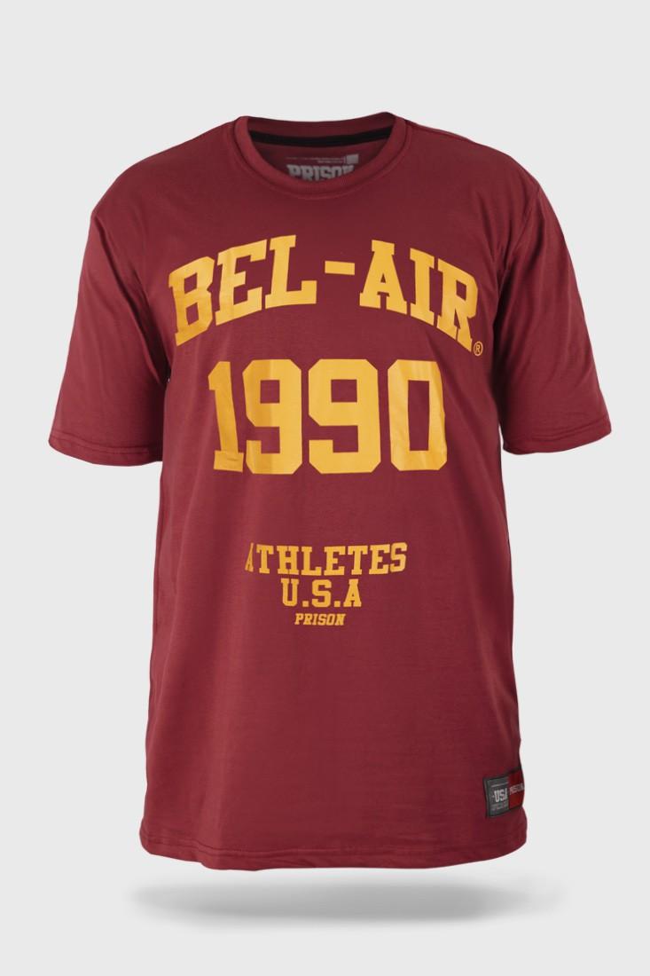 Camiseta Prison Bel Air Vinho