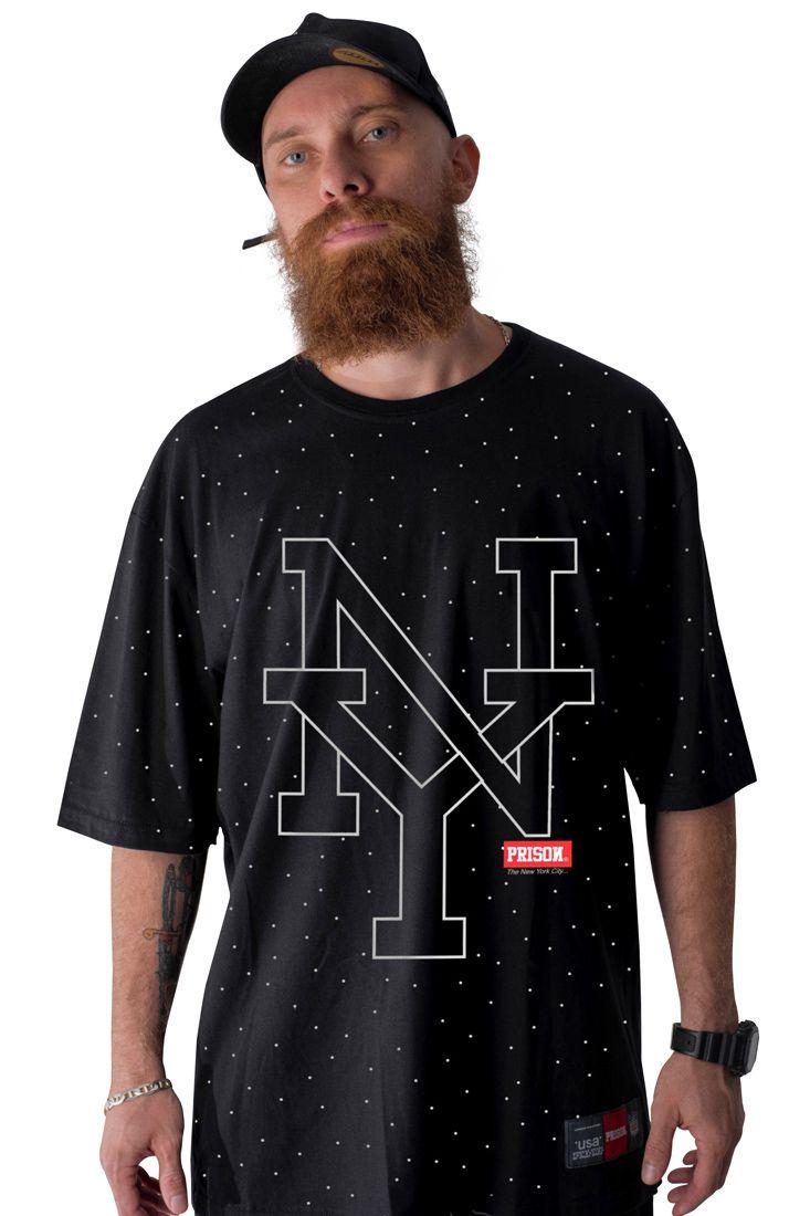 Camiseta Prison Big New York Preta