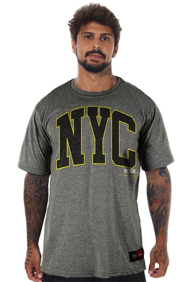 Camiseta Prison Big NYC Mescla