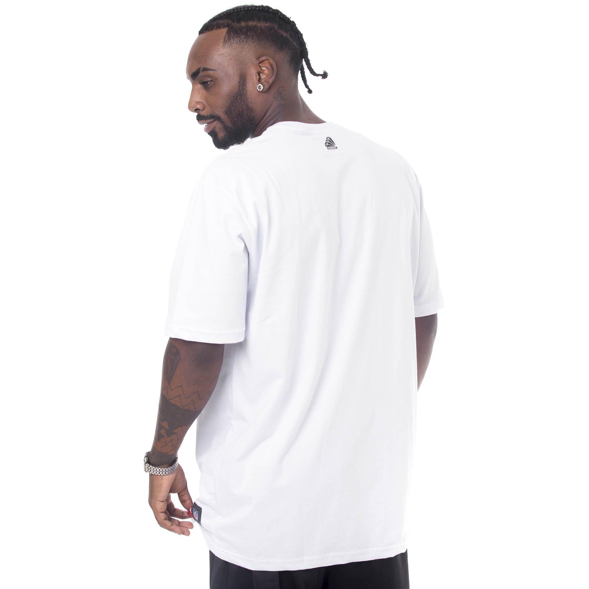 Camiseta Prison Bitch Discret Branca