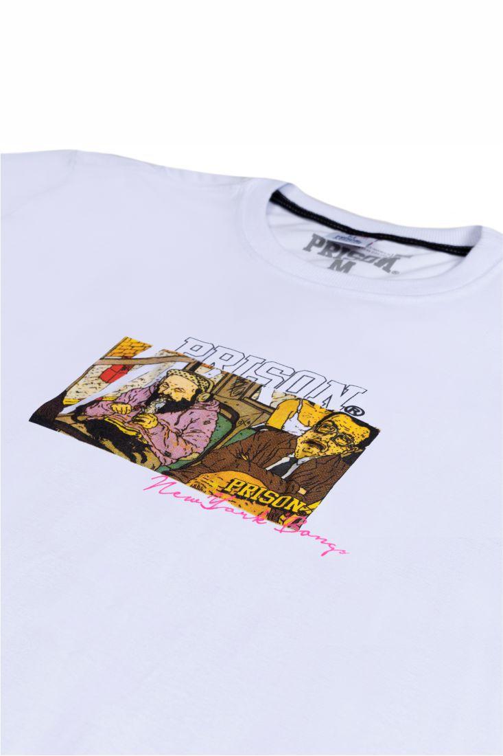 Camiseta Prison Bong Branca
