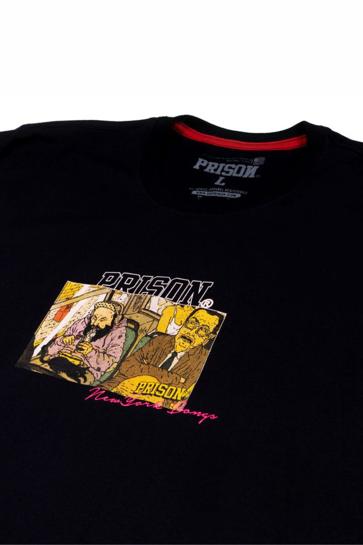 Camiseta Prison Bong Preta