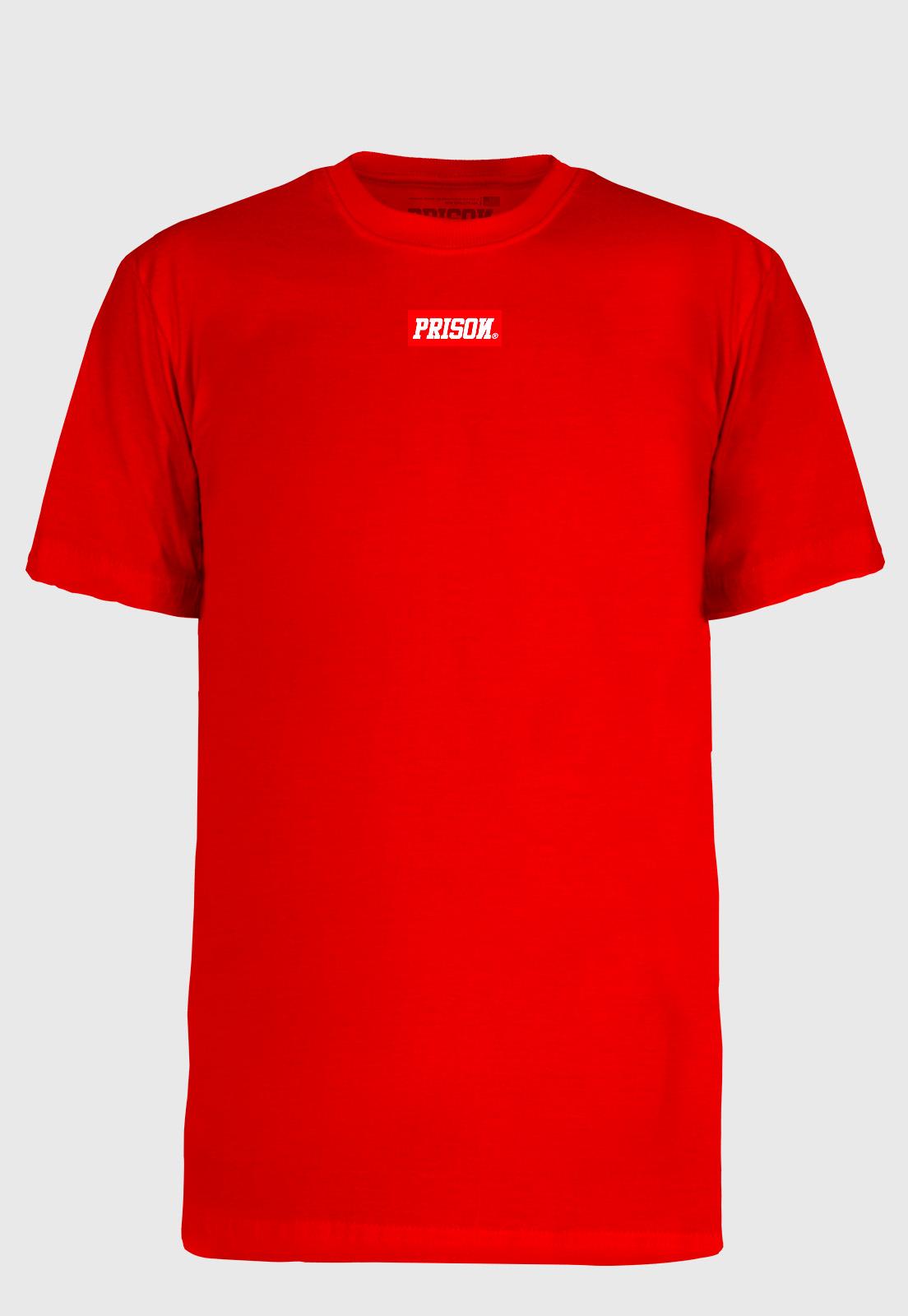 Camiseta Prison Box Logo Red
