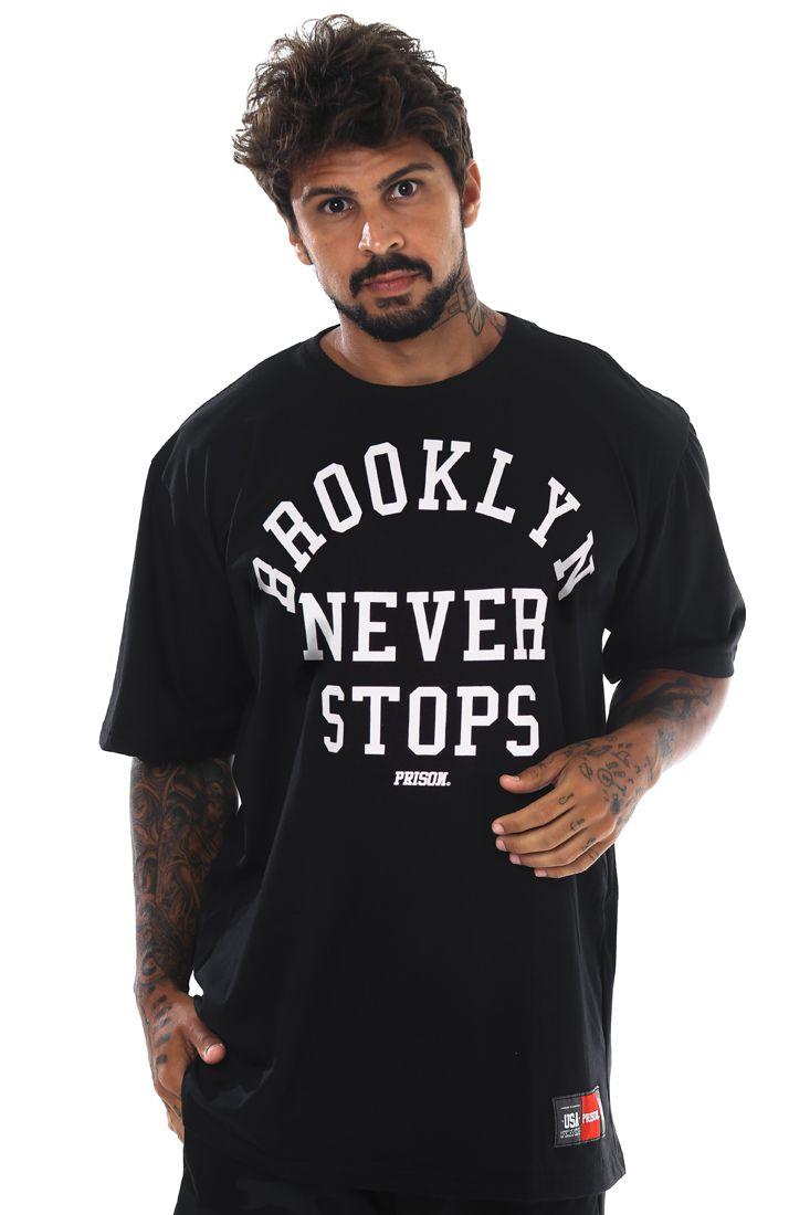 Camiseta Prison Brooklyn Preta