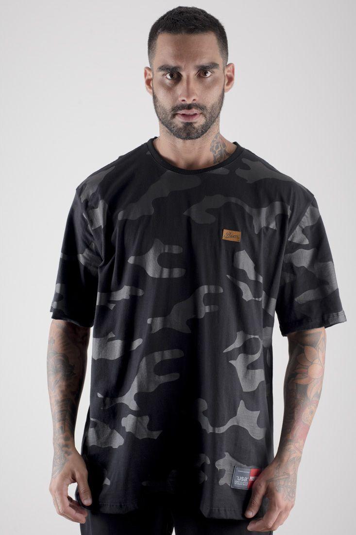 Camiseta Prison Camuflada Discret