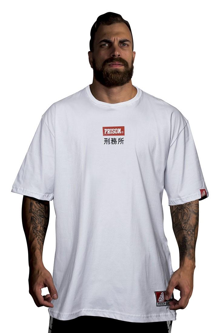 Camiseta Prison Chinatown Branca