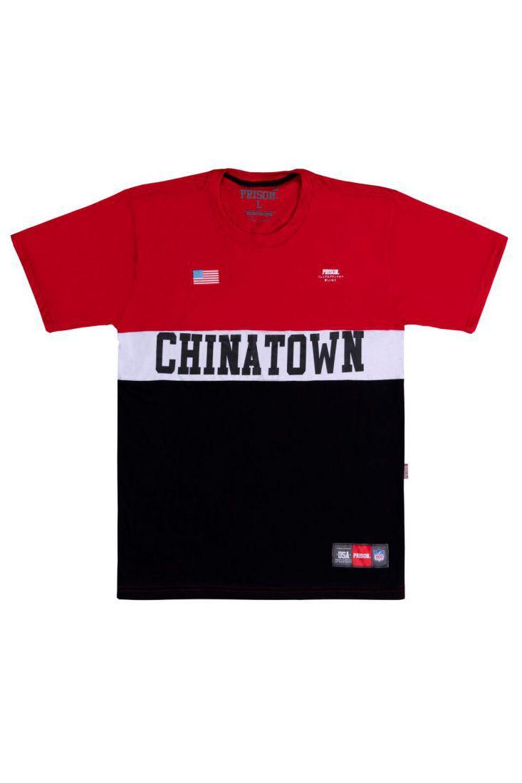 Camiseta Prison Chinatown red