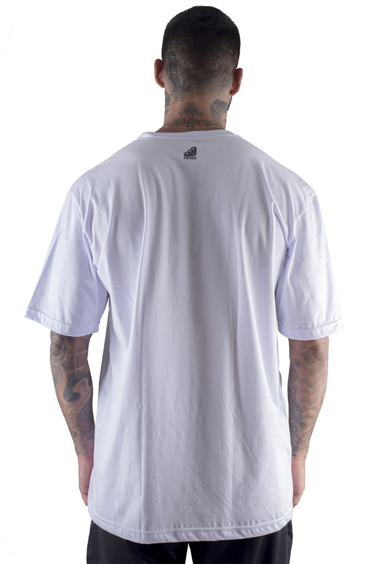 Camiseta Prison Cof Cof 420 Branca