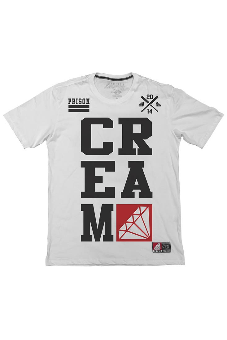 Camiseta Wutangclan Cream Prison Branca