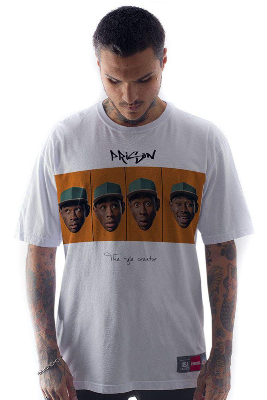 Camiseta Prison Creator Branca