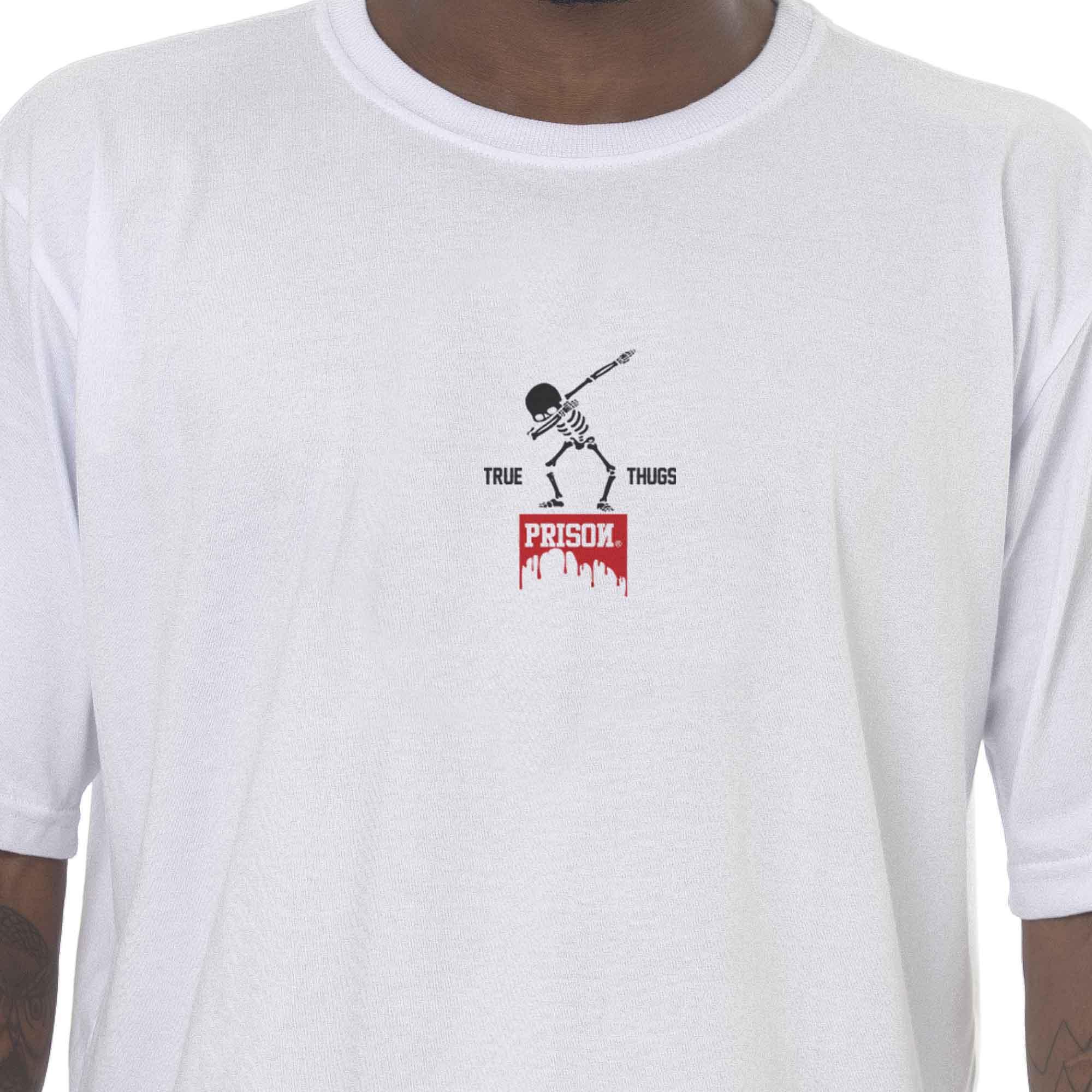 Camiseta Prison Dab Branca
