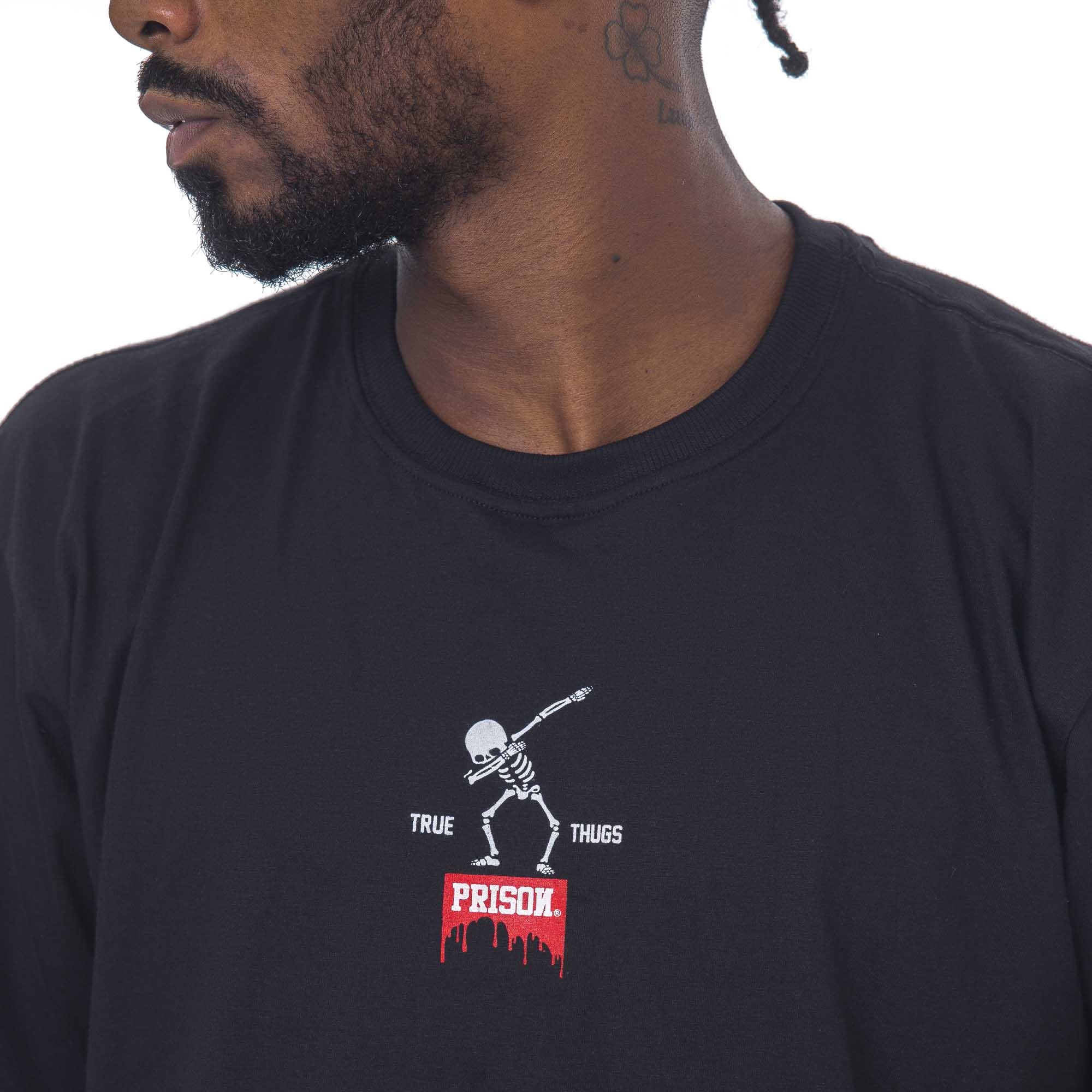 Camiseta Prison Dab Preta