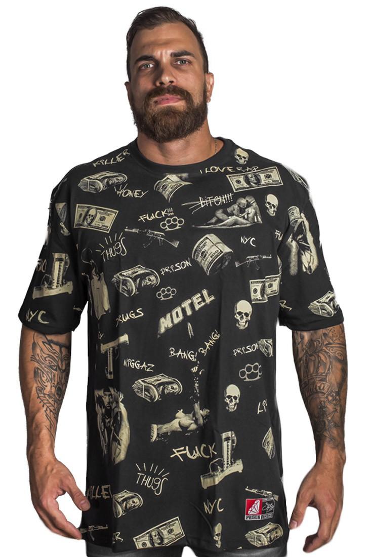 Camiseta Prison Dollar Street Preta