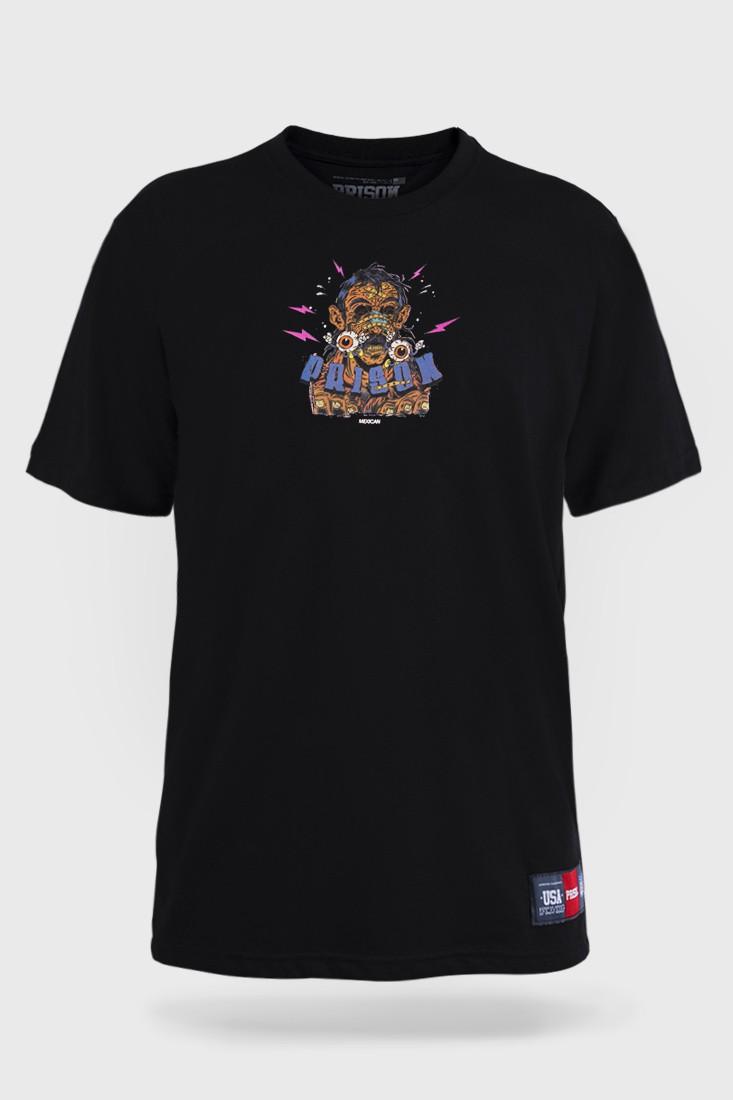 Camiseta Prison El Loco Preta