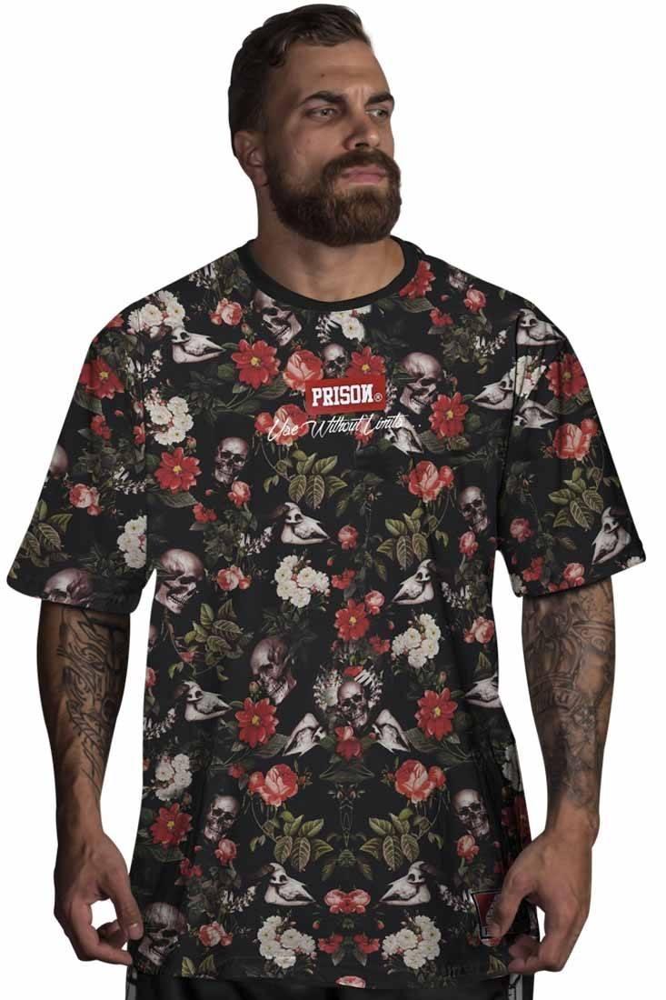 Camiseta Prison Floral Red