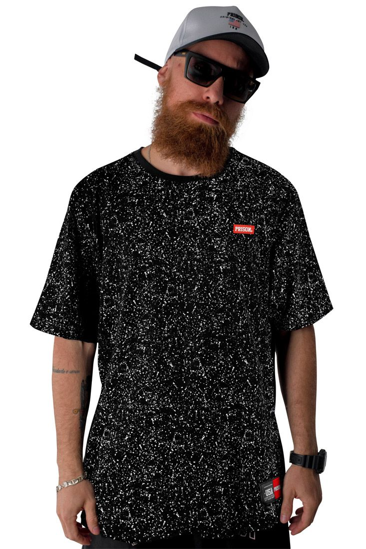Camiseta Prison Fresh Ink Preta