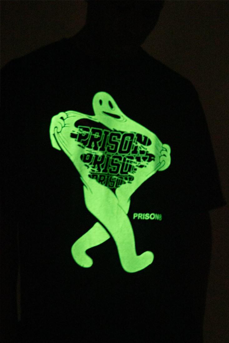Camiseta Prison Surprise Ghost Preta
